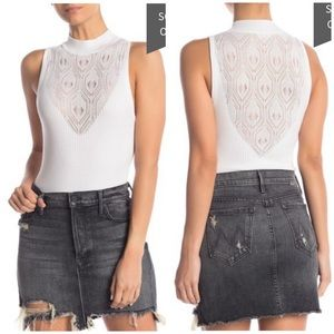 Free People NWT On Point Bodysuit